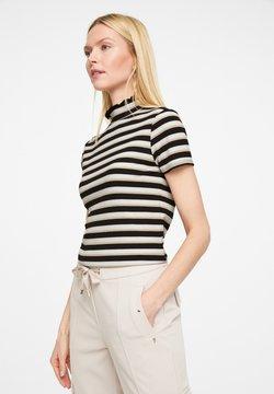comma - T-Shirt print - black stripes