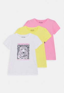 Blue Seven - GIRLS KOALA TIGER 3 PACK - T-shirt med print - multi coloured