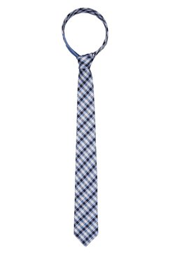 Tommy Hilfiger - CHECK TIE - Krawatte - blue
