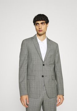Calvin Klein Tailored - PRINCE OF WALES SUIT - Anzug - grey