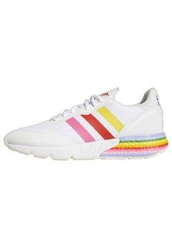 adidas Originals - ZX 1K BOOST PRIDE - Sneaker low - white