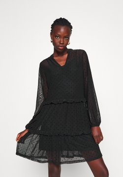 Even&Odd Tall - Korte jurk - black