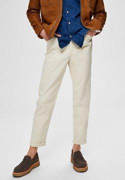 Selected Homme - Straight leg jeans - bone white