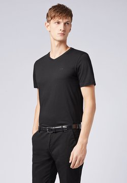 "BOSS - BOSS HERREN T-SHIRT ""CANISTRO 80"" REGULAR FIT - T-paita - black"