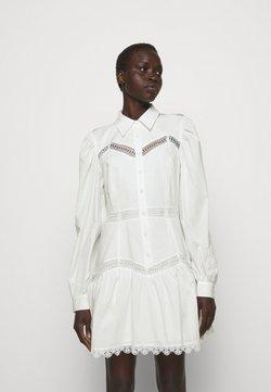 DESIGNERS REMIX - SANDRA SHORT DRESS - Skjortekjole - cream