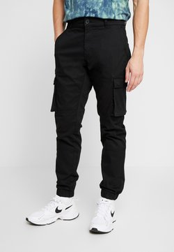 Only & Sons - ONSCAM STAGE CARGO CUFF - Cargo trousers - black