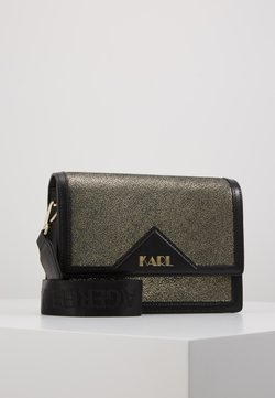 KARL LAGERFELD - SHOULDER BAG - Torba na ramię - bronze