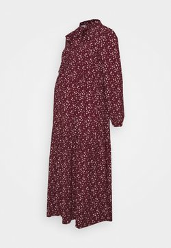 Glamorous Bloom - DRESS - Vestido camisero - maroon ditsy