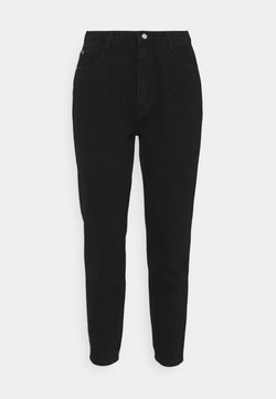 Missguided Plus - PLUS MISSGUIDED POCKET RIOT  - Relaxed fit jeans - black