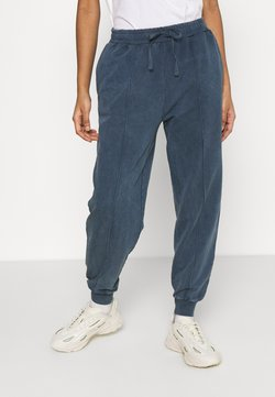 Topshop - ACID WASH JOGGER - Jogginghose - denim blue