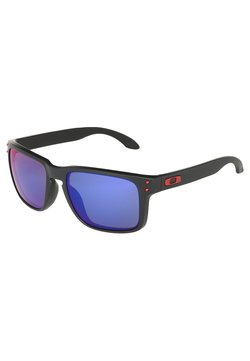 Oakley - HOLBROOK - Solbriller - matte black/positive red iridium