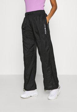 Nike Sportswear - STREET PANT - Stoffhose - black/white
