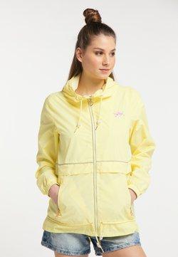myMo - WINDBREAKER - Windbreaker - light yellow