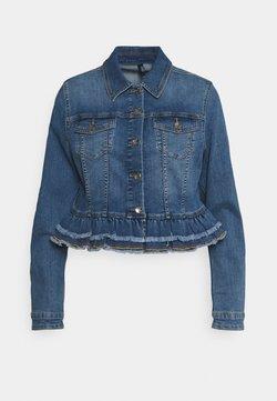 Liu Jo Jeans - GIUBBINO - Veste en jean - denim blue silly wash