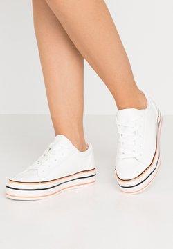 Even&Odd - Zapatillas - white/coral