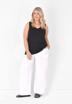 Live Unlimited London - Pantalon classique - white