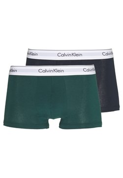 Calvin Klein Underwear - TRUNK 2 PACK - Shorty - green