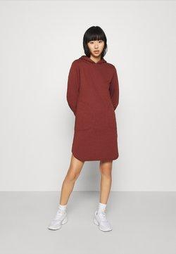 ONLY - ONLELVIRA HOOD DRESS - Freizeitkleid - sable