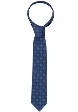 Eterna - Krawatte - orange/blau