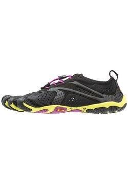 Vibram Fivefingers - Zapatillas running neutras - black/yellow/purple