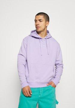Karl Kani - SMALL SIGNATURE HOODIE UNISEX  - Sweatshirt - lilac