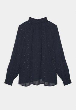 Lindex - BLOUSE AUDREY - Langarmshirt - dark blue