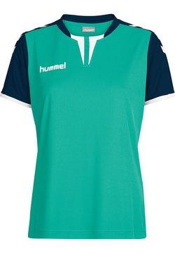 Hummel - CORE SS - T-Shirt print - atlantis/marine pr