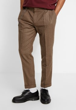 Shelby & Sons - TURN-UP  - Stoffhose - brown