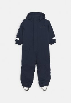 Didriksons - HAILEY KIDS COVERALL - Talvihousut - navy