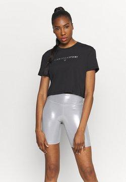 Pink Soda - AVE FITNESS - T-shirt imprimé - black/silver