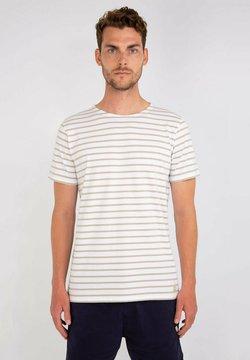 Armor lux - HOËDIC MARINIÈRE - T-Shirt print - blanc flax