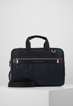 Tommy Hilfiger - ELEVATED WORKBAG - Portfölj - blue