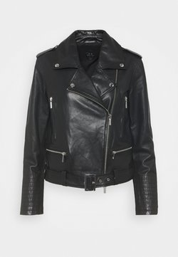 Armani Exchange - Giacca di pelle - black