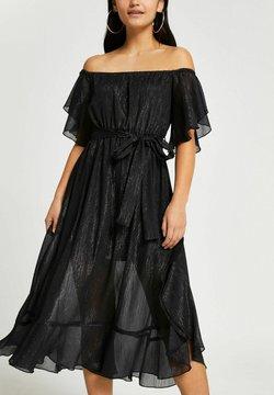 River Island Petite - Robe de soirée - black