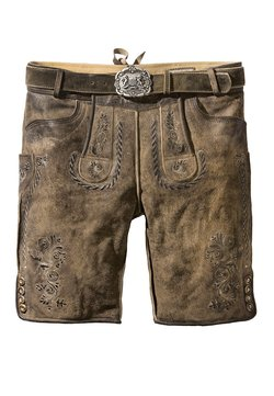 Stockerpoint - THOMAS - Lederhose - stein