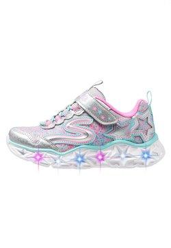 Skechers - GALAXY LIGHTS - Sneaker low - silver/multicolor