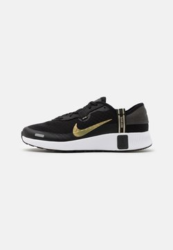 Nike Sportswear - REPOSTO - Baskets basses - black/metallic gold star/dark smoke grey/white