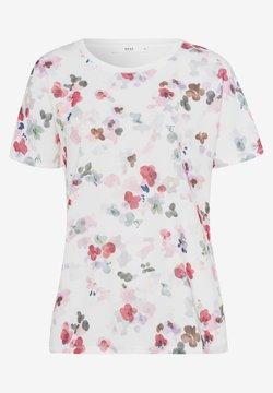 BRAX - T-Shirt print - white