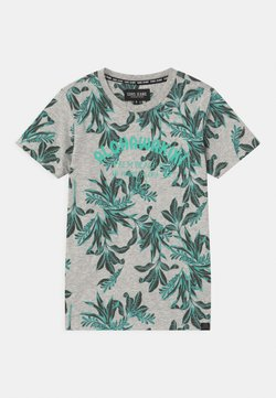 Cars Jeans - BOSSO - T-Shirt print - aqua
