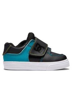 DC Shoes - PURE V - Matalavartiset tennarit - black/green/orange