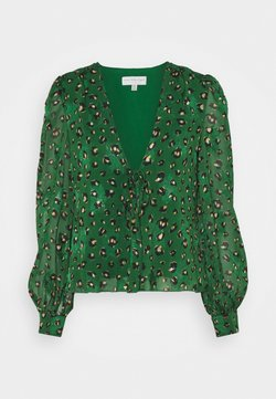 Never Fully Dressed - GREEN LEOPARD ADA - Bluse - green