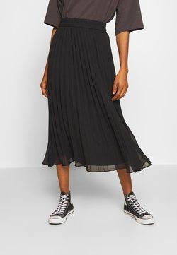 Monki - LAURA PLISSÉ SKIRT - Jupe plissée - black