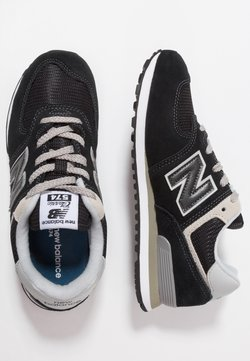 New Balance - PC574 - Matalavartiset tennarit - black/grey
