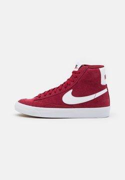 Nike Sportswear - BLAZER MID '77 UNISEX - High-top trainers - team red/white/black