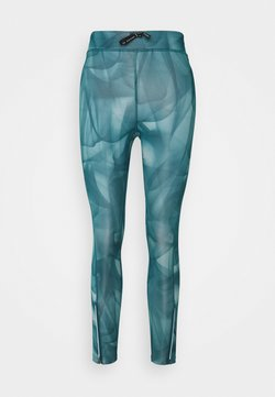 Nike Performance - RUN 7/8 - Tights - dark teal green/silver