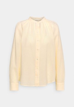 Marc O'Polo - BLOUSE LONG SLEEVE - Hemdbluse - light yellow
