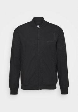 G-Star - BASEBALL ZIP THROUGH  - Blouson Bomber - dark black