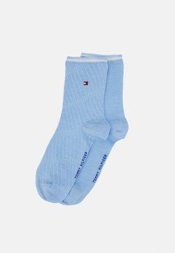 Tommy Hilfiger - WOMEN BIAS OPEN STRIPE 2 PACK - Socken - light blue
