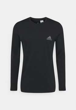 adidas Performance - Langarmshirt - black