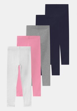 Friboo - 5 PACK - Legging - grey/dark blue/pink